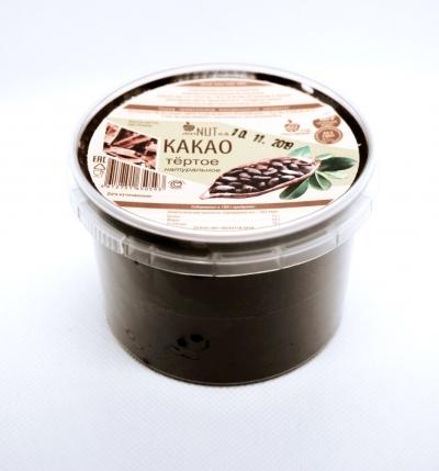 Какао-бобы перетертые